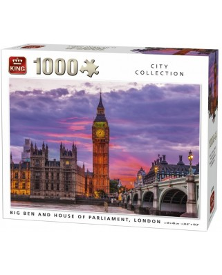 Puzzle King - London, 1000 piese (05658)