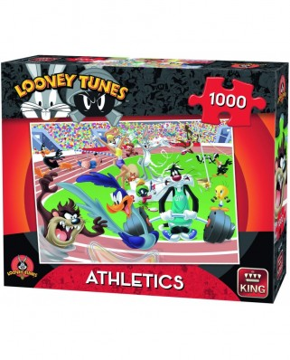 Puzzle King - Looney Tunes - Athletics, 1.000 piese (05599)