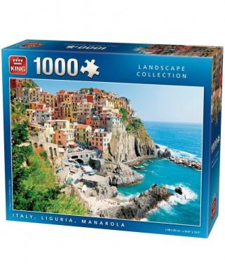 Puzzle King - Manarola, Italien, 1.000 piese (05199)
