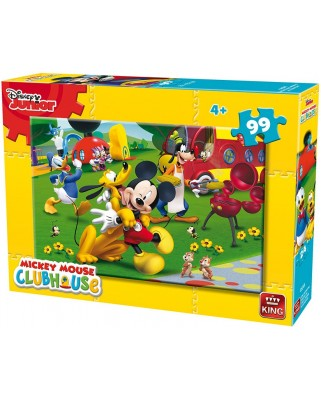 Puzzle King - Mickey, 99 piese (king-Puzzle-05691-A)