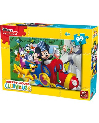 Puzzle King - Mickey, 99 piese (king-Puzzle-05691-B)