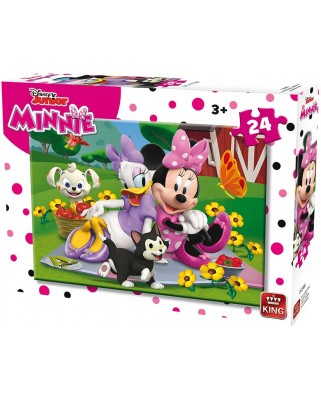 Puzzle King - Minnie, 24 piese (king-Puzzle-05248-A)