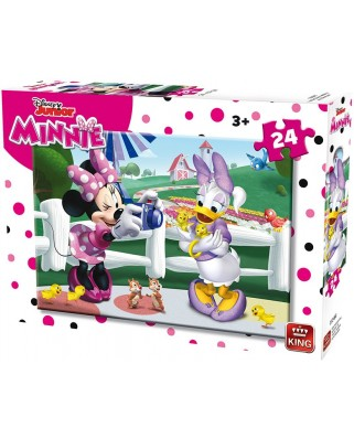 Puzzle King - Minnie, 24 piese (king-Puzzle-05248-B)