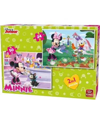 Puzzle King - Minnie, 24/50 piese (05414)