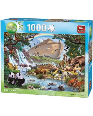 Puzzle King - Noah's Ark, 1.000 piese (05330)