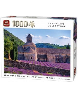 Puzzle King - Notre-Dame de Senanque, France, 1.000 piese (05663)