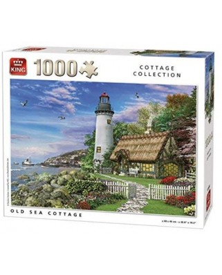 Puzzle King - Old Sea Cottage, 1.000 piese (05717)