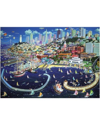 Puzzle Dino - San Francisco, 1.000 piese (62936)
