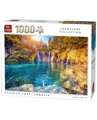 Puzzle King - Plitvice, Croatia, 1.000 piese (05651)