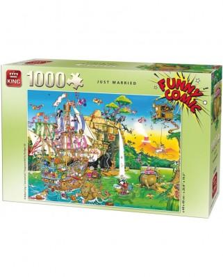 Puzzle King - Robert Crisp: Just Married, 1.000 piese (05224)