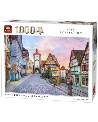 Puzzle King - Rothenburg ob der Tauber, 1.000 piese (05649)