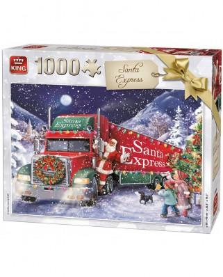 Puzzle King - Santa Express Christmas, 1.000 piese (05618)
