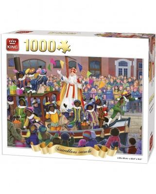 Puzzle King - Sinterklaas intocht, 1.000 piese (05744)