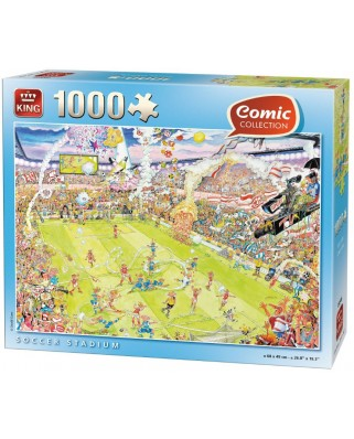 Puzzle King - Soccer Stadium, 1.000 piese (05546)