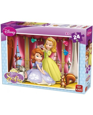 Puzzle King - Sofia the First, 24 piese (05281-A)