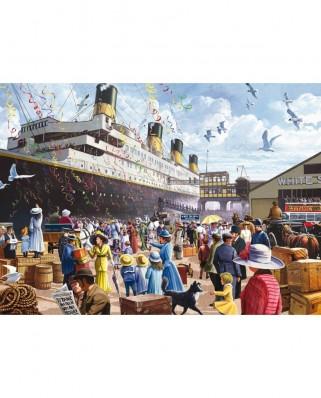 Puzzle King - Titanic, 1.000 piese (05134)