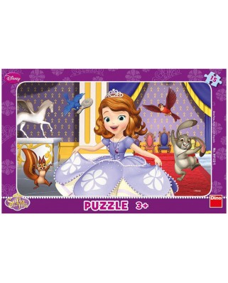 Puzzle Dino - Sofia the First, 15 piese (62844)