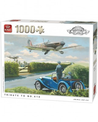 Puzzle King - Tribute to No.610, 1.000 piese (05394)