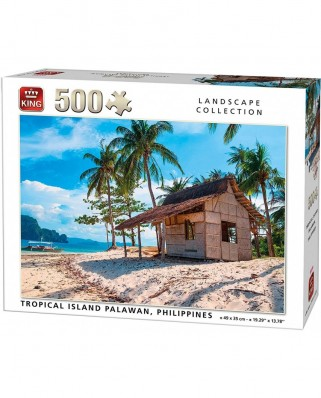 Puzzle King - Tropical Island, 500 piese (05535)
