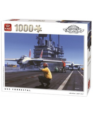 Puzzle King - USS Forrestal, 1.000 piese (05625)