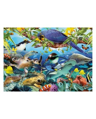 Puzzle King - Wonders of the Wild, 1.000 piese (05482)