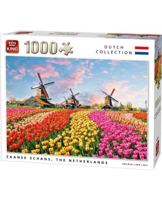 Puzzle King - Zaanse Schans, The Nederlands, 1.000 piese (05722)