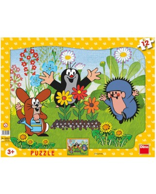 Puzzle Dino - The Little Mole, 12 piese (62850)