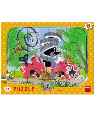 Puzzle Dino - The Little Mole, 12 piese (62854)