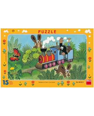Puzzle Dino - The Little Mole, 15 piese (62840)