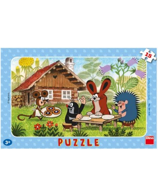 Puzzle Dino - The Little Mole, 15 piese (62842)