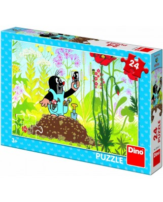 Puzzle Dino - The Little Mole, 24 piese (62887)