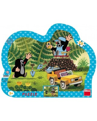 Puzzle Dino - The Little Mole, 25 piese (62863)