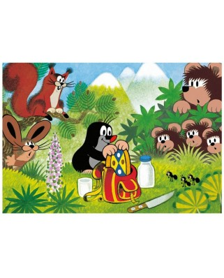 Puzzle Dino - The Little Mole, 48 piese (62893)