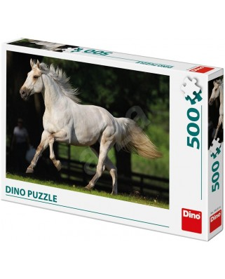 Puzzle Dino - White Horse, 500 piese (65151)