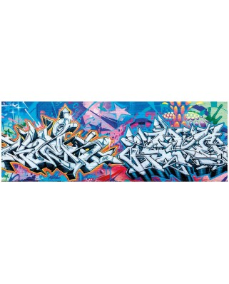Puzzle panoramic Dino - Graffiti, 2.000 piese (63002)