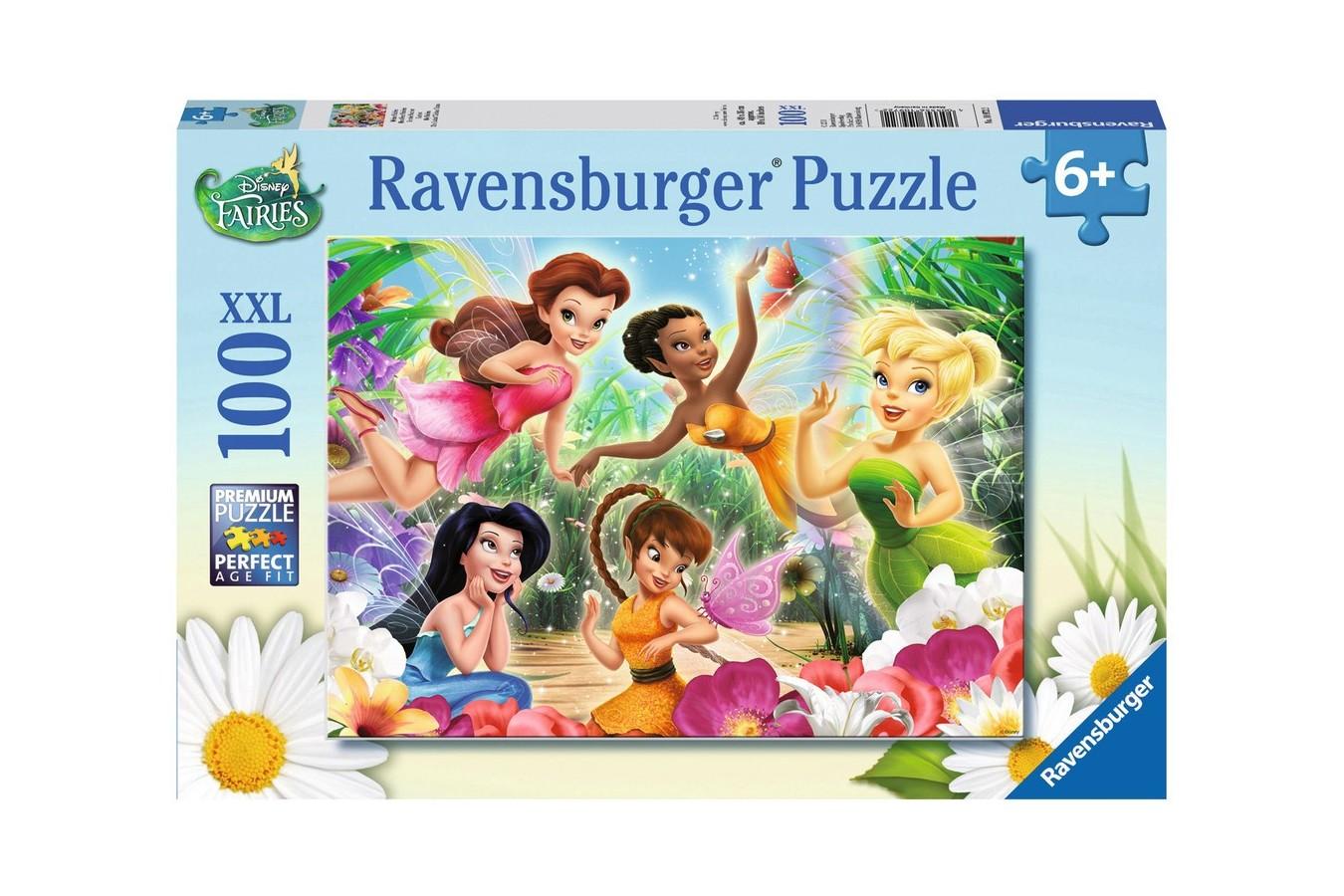Puzzle Ravensburger - Zanele Disney, 100 piese (10972)